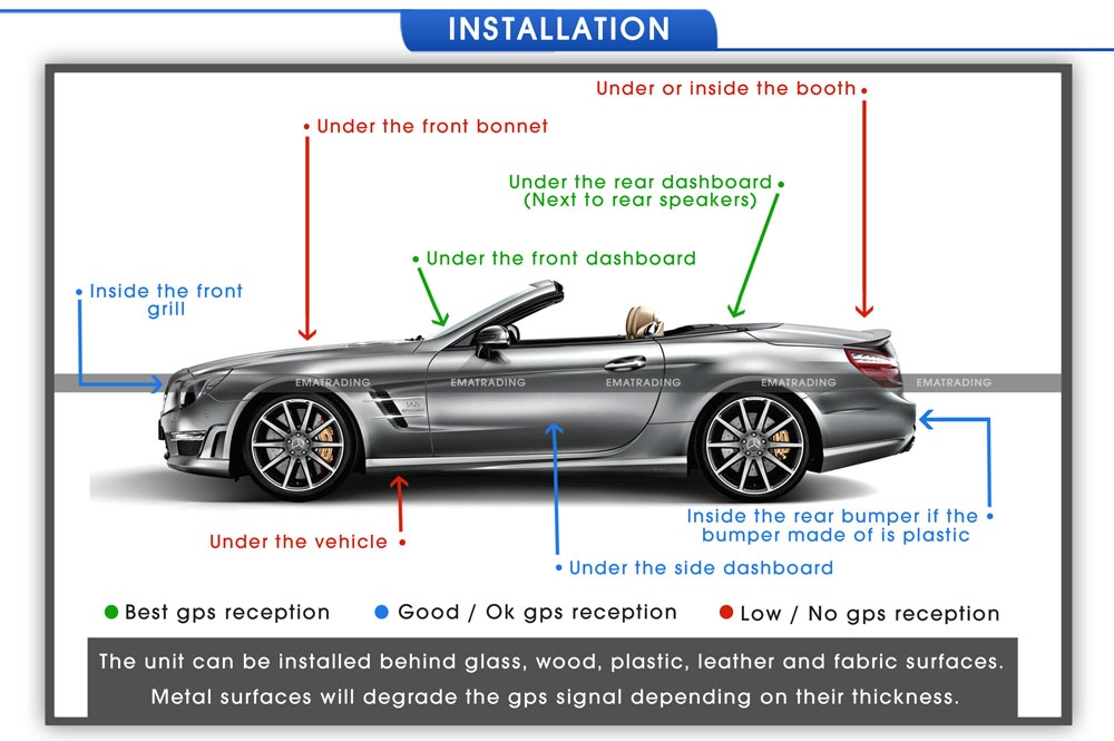 gt06n dispositif de localisation gps tracker concox pour voiture auto v hicule ebay. Black Bedroom Furniture Sets. Home Design Ideas