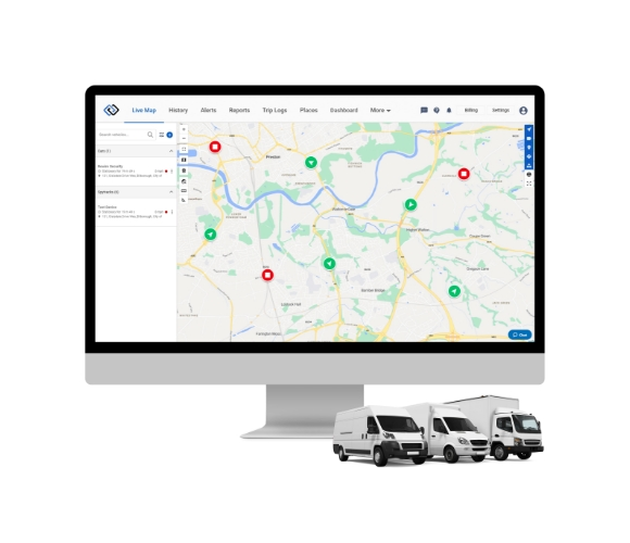 24/7 Vehicle GPS Tracking Package