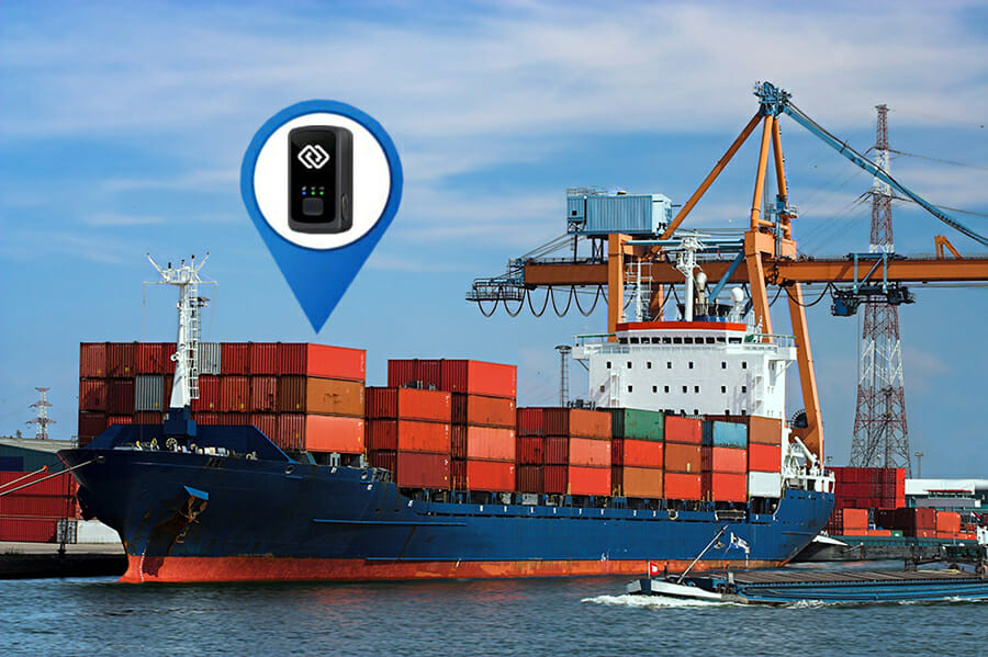 Asset Tracking Device in a Cargo Container