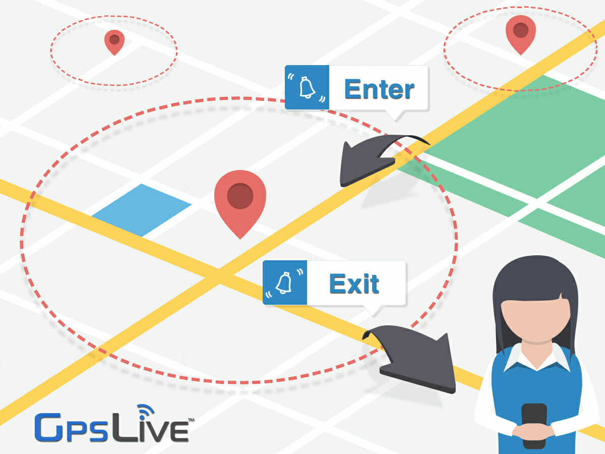 GPS Tracking Device Geofence Zone Feature