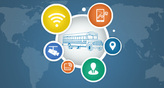 School Bus Fleet Tracking Solutions