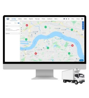 Cold Chain GPS Tracking System