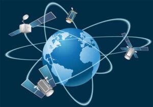 GPS Satellites in Earth's Orbit