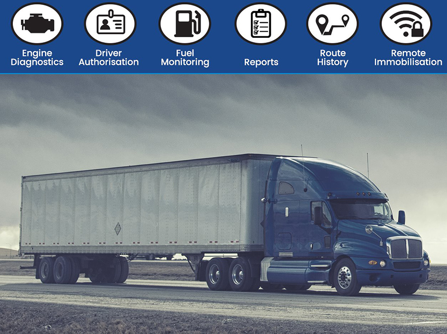 Features of Asset/Fleet Tracking Systems