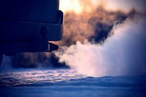 Idling Vehicle Exhaust