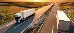 Truck Fleet on the Road