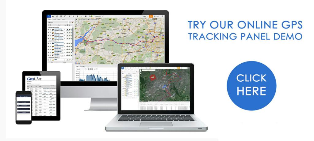 GPSLive Tracking Platform Banner