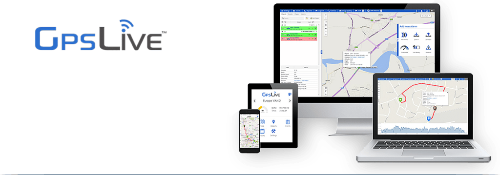 GPSLive Tracking Software
