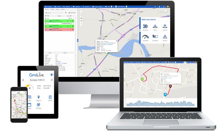 GPSLive Tracking Platform