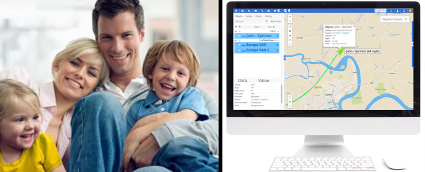 Tracking the Location of Family Members With GPS