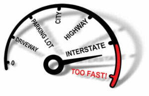 Travelling Over the Speed Limit