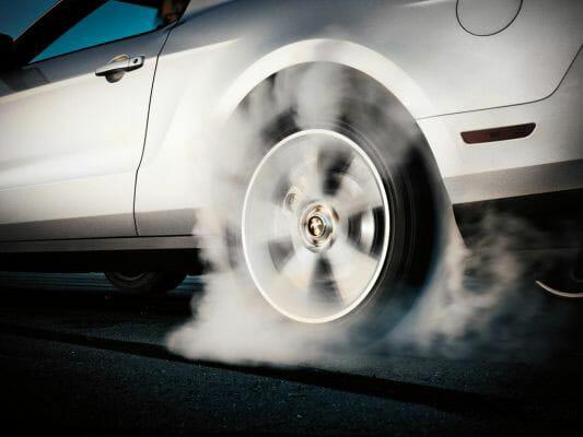 Tire Burning