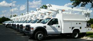 Vehicle Fleet of a Utility Company