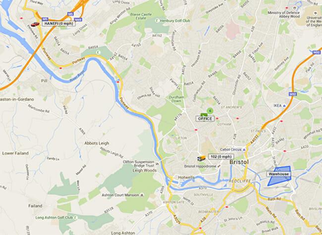 GPS Tracker Productive Maps