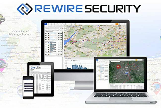 Rewire Security Live Web GPS Tracking