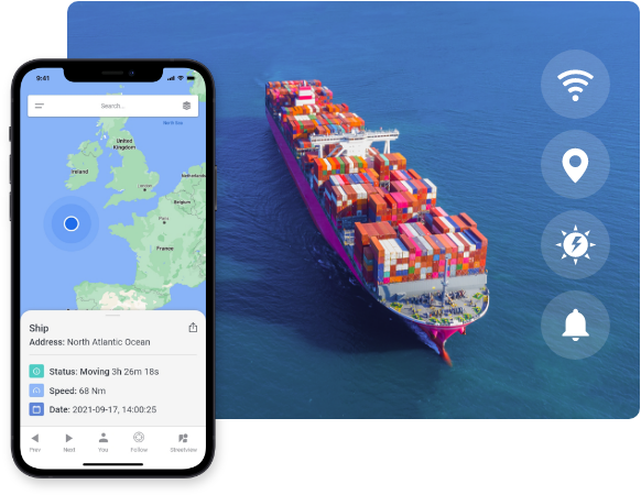 Container Location Tracking System