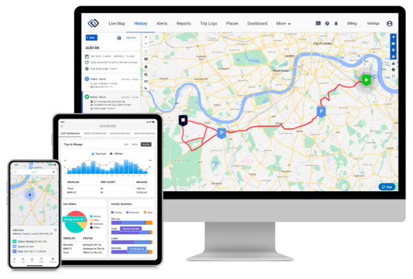 GPSLive GPS Tracking System Software APP