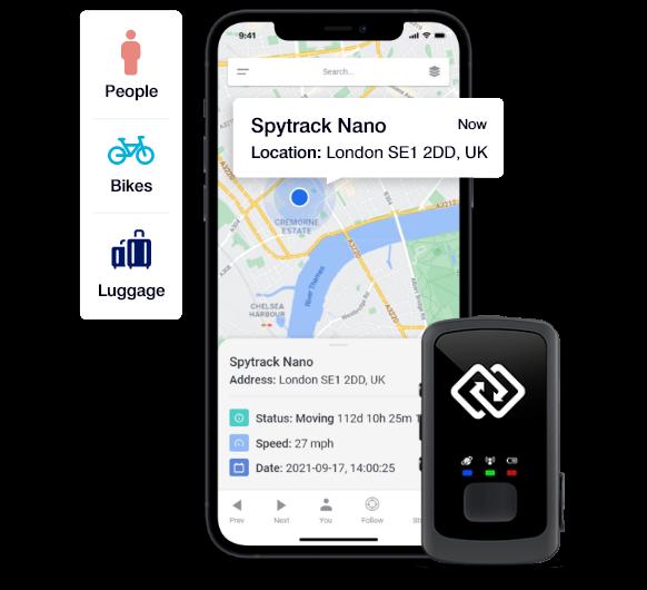 Spytrack Small Portable GPS Tracker